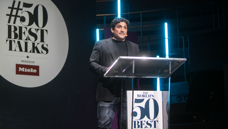 mauro colagreco 50 best talks