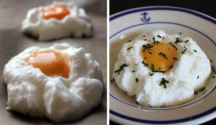 rezept cloud eggs