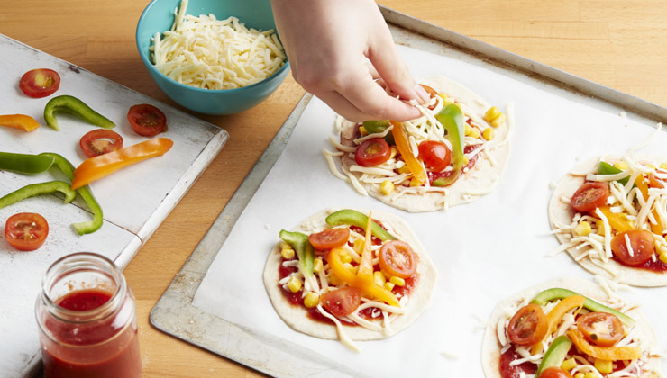 mini pizza kit