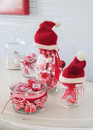 weihnachtliche deko ideen mit pralinen von ferrero mit. Black Bedroom Furniture Sets. Home Design Ideas