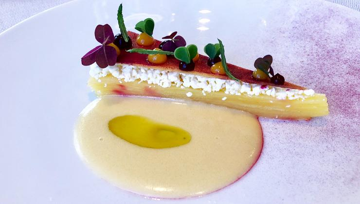 yellow beetroot terrine