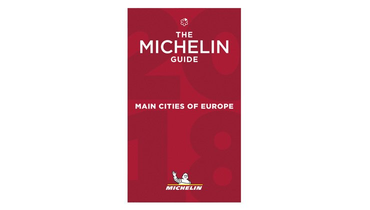 "Guide MICHELIN ""Main Cities of Europe 2018"""