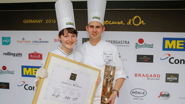 Marvin Böhm gewinnt Bocuse d'Or Germany 2016