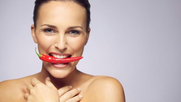 Das Essen von scharfem Essen hilft Ihnen beim Abnehmen
