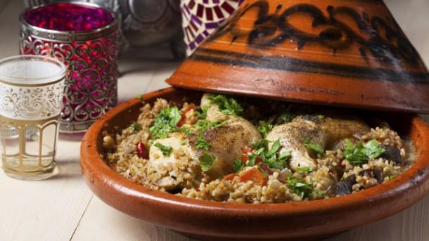 rezept: nordafrikanische hähnchen-tajine - worlds of food - kochen ... - Nordafrikanische Küche