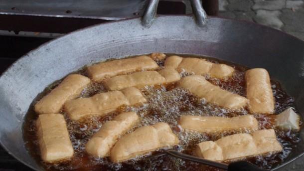 Wann hat l die richtige temperatur zum frittieren for Kochen temperatur
