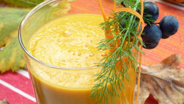 Veganes Rezept: Golden Harvest Smoothie
