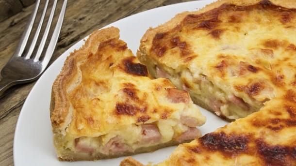 Rezept: Französische Quiche Lorraine - worlds of food - Kochen ...