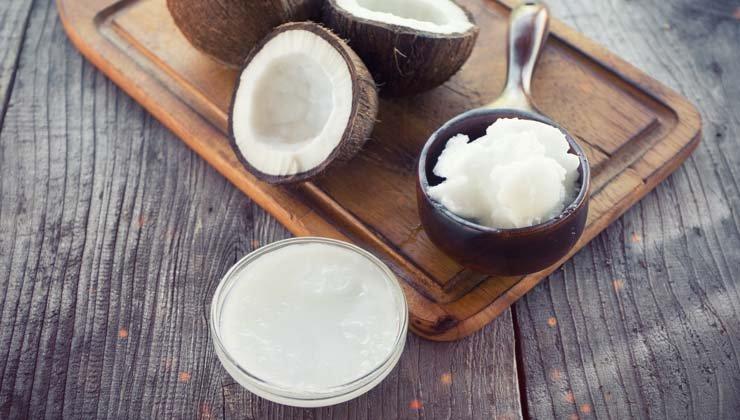 mit kokosöl braten