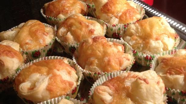 Rezept Schinken Käse Muffins Aus Blätterteig Worlds Of Food