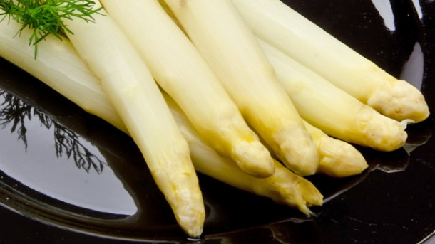 Spargel in Alufolie – Aroma pur