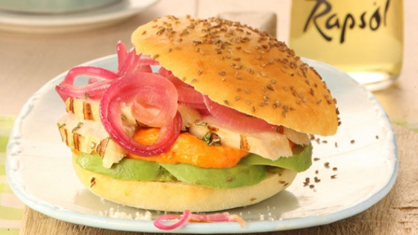 Rezept: Chicken Burger