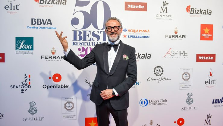 Osteria Francescana bei World´s 50 Best Restaurants vorne