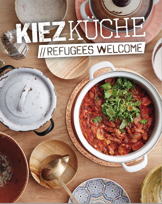 kiezkueche refugees welcome