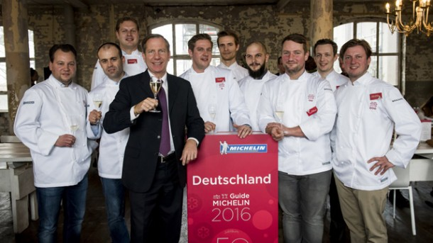 Die deutschen Sternerestaurants – Guide Michelin 2016