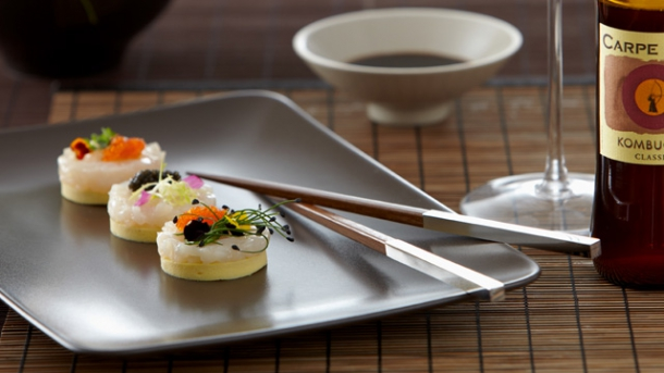 rezept kartoffel sushi mit gebeiztem fisch worlds of food kochen rezepte k chentipps di t. Black Bedroom Furniture Sets. Home Design Ideas