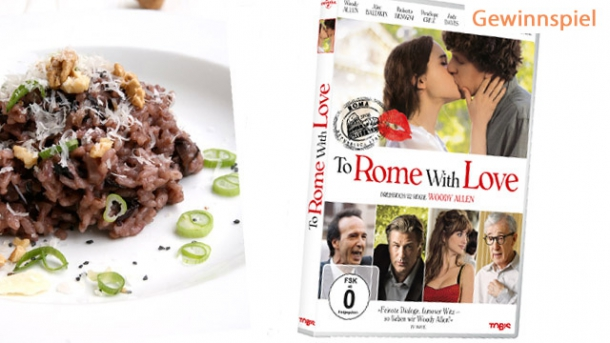 Radicchio-Risotto zum DVD-Start von To Rome with Love