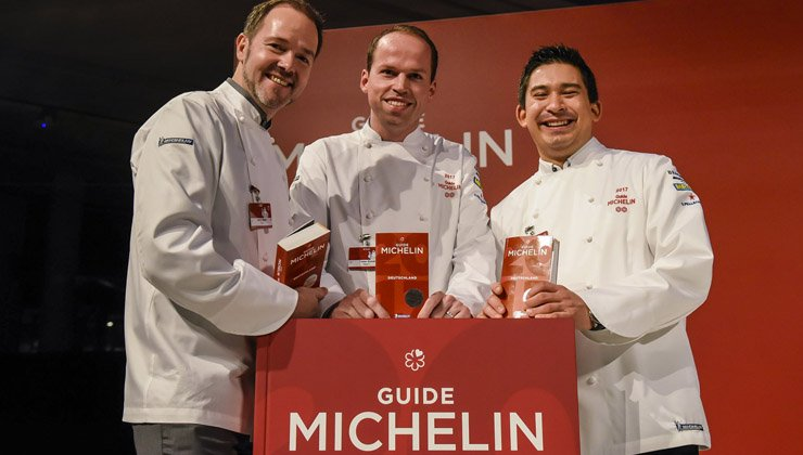 Guide Michelin 2017 – Die deutschen Sternerestaurants